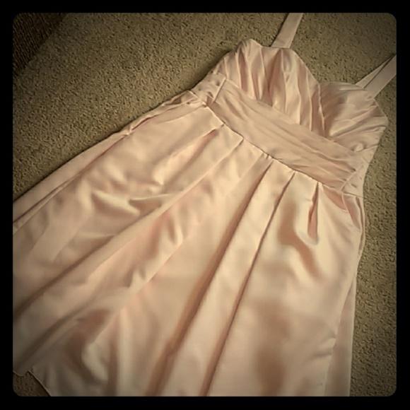 Jasmine Dresses & Skirts - Jasmine Custom Maternity bridesmaid dress w/shoes